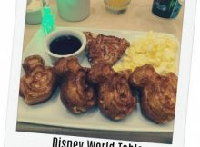 Disney World Allergy friendly mickey waffles