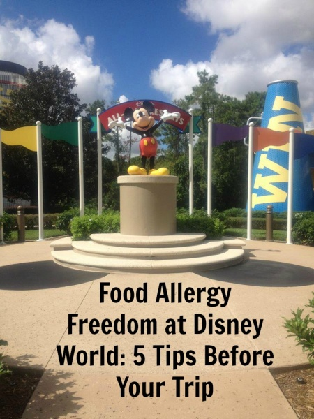 Tips on visiting Walt Disney World with food allergies