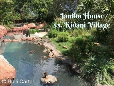 Jambo House vs. Kidani Village - Disney's Animal Kingdom Lodge