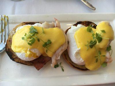 Lobster Eggs Benedict at California Grill Brunch