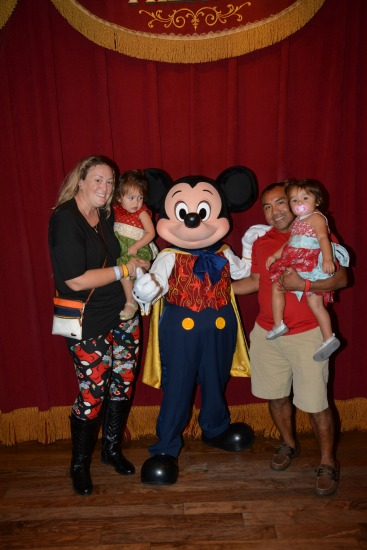 Christmas Party with Mickey