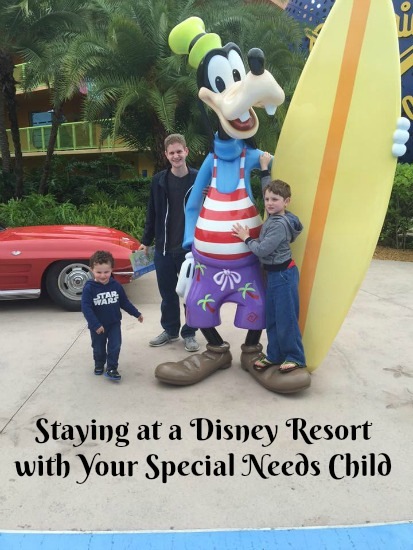 Staying at a Disney World Resort with Your Special Needs Child