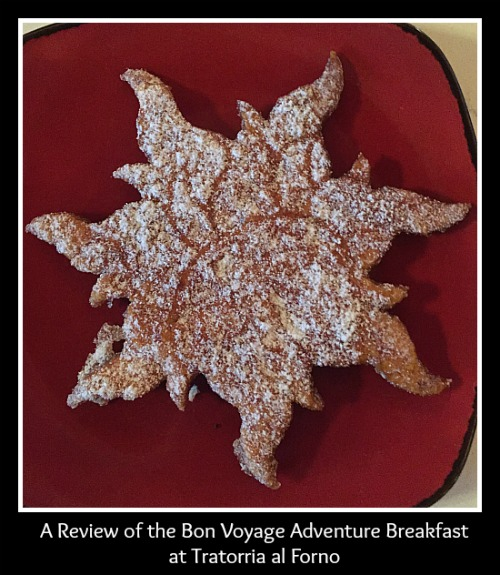 A Review of the Bon Voyage Adventure Breakfast