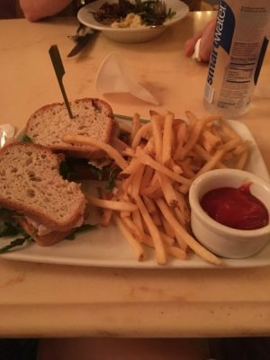 disney world with food allergy turkey sandwich