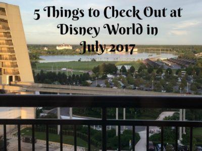 Walt Disney World in July 2017