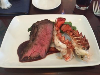 Ariel's Grotto Lobster & Tri-Tip