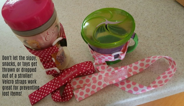 Sippy Cups & Snack Containers when traveling with toddlers