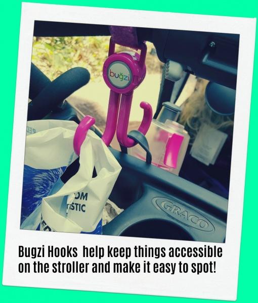 Mommy hooks for stroller