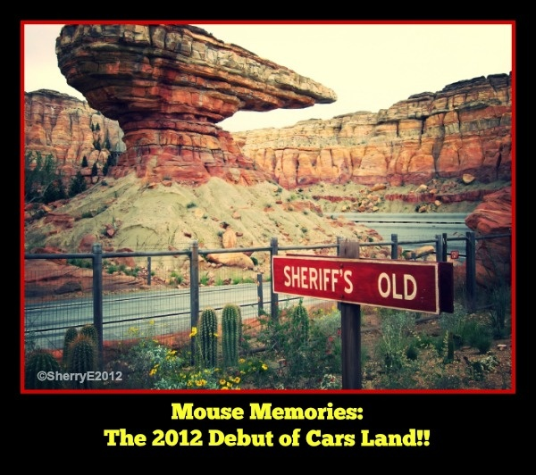 Cars Land opening 2012