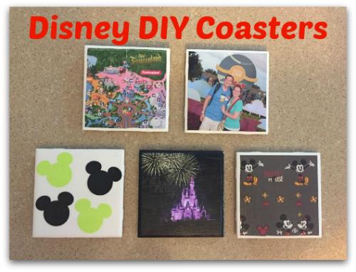 How to make Disney DIY Coasters