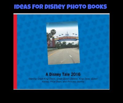 What to do with Disney photos - Disney Photo Books