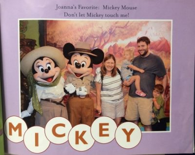 What to do with Disney photos