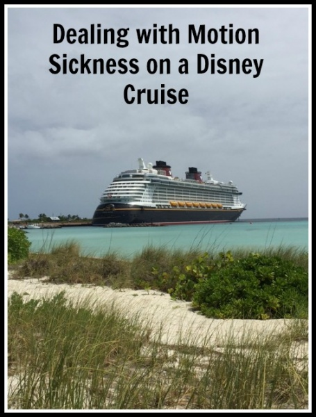 Dealing with Motion Sickness on a Disney Cruise
