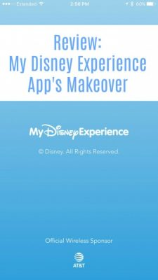 My Disney Experience Review
