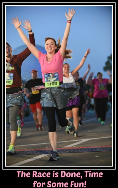 runDisney Race - What To Do After