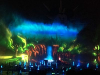 World of Color Projection