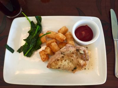 Ariel's Grotto Chicken Breast Meal