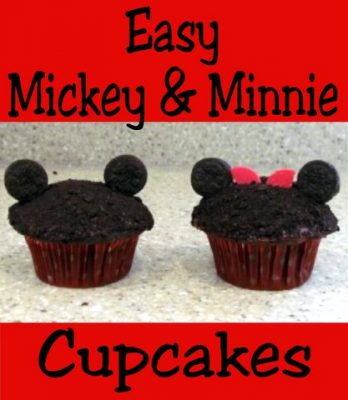 Easy Minnie and Mickey Mouse Cupcakes Disney Cooking