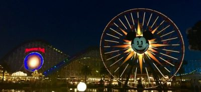 World of Color Viewing Area