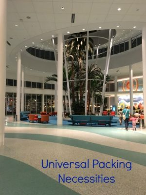 Universal Packing Necessities