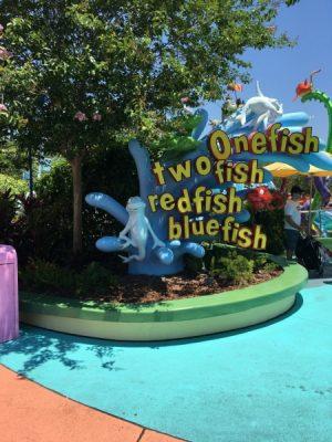 Seuss Landing Ride Fish