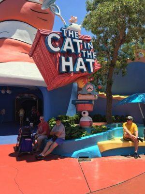 Seuss Landing Universal Orlando Cat in the Hat Ride