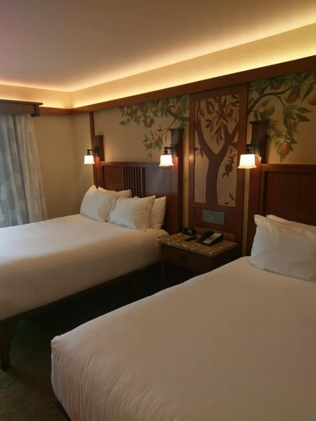 Disney Grand Californian Hotel Renovated Room