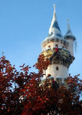 Sleeping Beauty castle at Disneyland