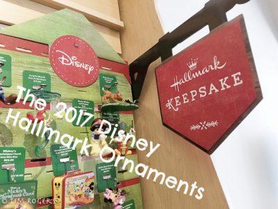 Disney Hallmark Ornaments