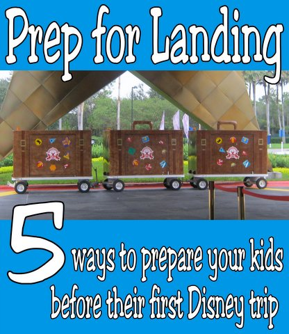 ways to prepare your kids for their first Disney trip