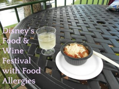 Epcot Food and Wine Festival Food Allergy Tips