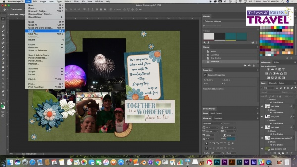 Digitally Scrapbooking