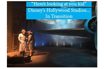 Disney's Hollywood Studios in transition