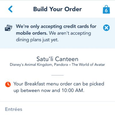 Mobile Ordering Step 4