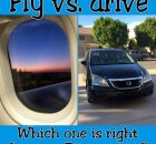 Flying vs. driving