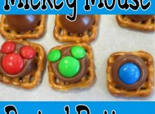 Mickey pretzel buttons