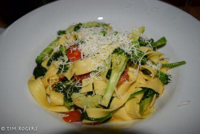 Fettuccine Broccolini Aglio Olio