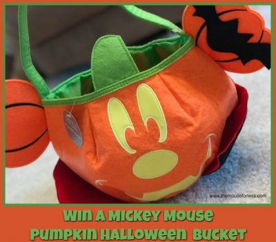 Mickey Mouse Pumpkin Halloween Bucket Contest
