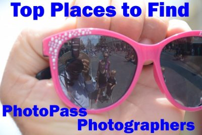 Top Places to Find Disney PhotoPass Photographers