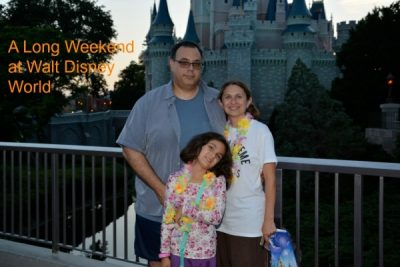 Walt Disney World - What Parks to See During a Long Weekend