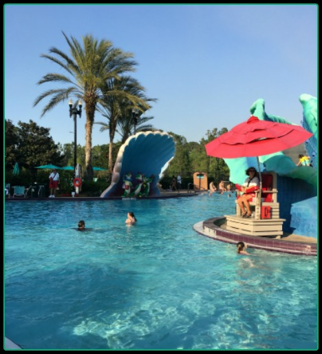 Fall is a great time to swim at any of the Walt Disney World Resort pools!