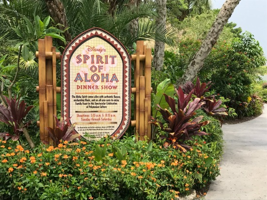Spirit of Aloha Sign