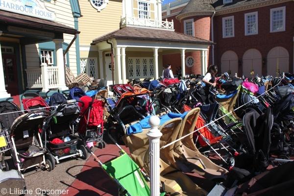 Strollers at Walt Disney World