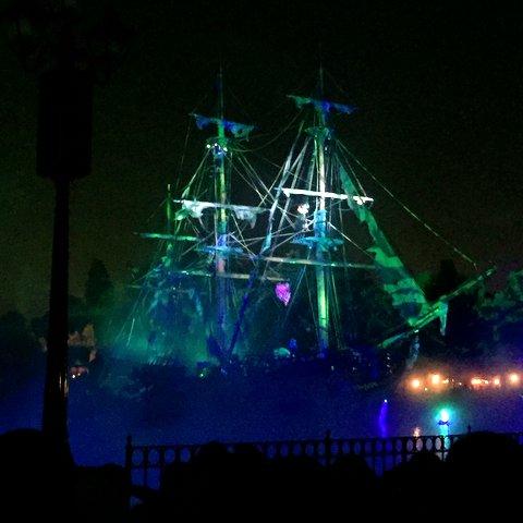 New Fantasmic at Disneyland