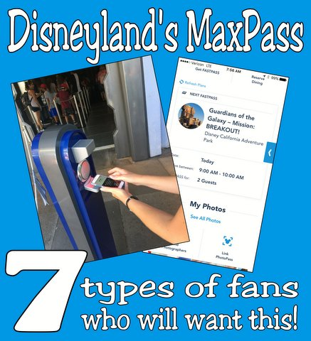 Disneyland MaxPass Tips