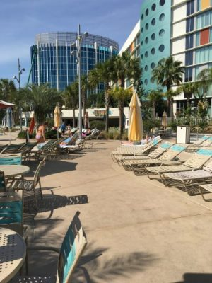 Cabana Bay pool area