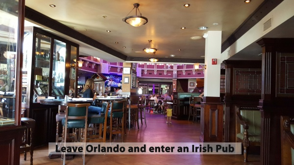 Irish Pub located in America