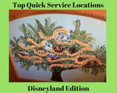 Top Quick Service Locations at Disneyland Resort