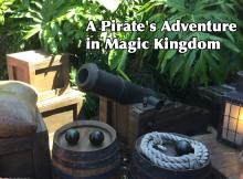 A Pirate's Adventure in Magic Kingdom