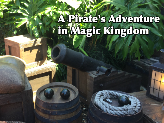 A Pirate's Adventure in Magic Kingdom